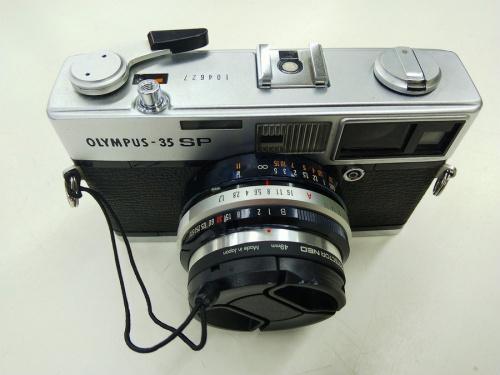 OLYMPUSのフィルムカメラ