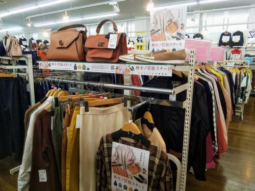 レディースファッションの秋物衣類