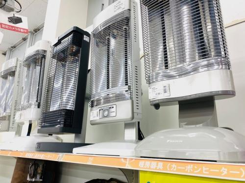 暖房器具の冬物買取