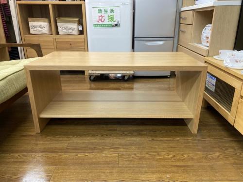 センターテーブルの秋田木工