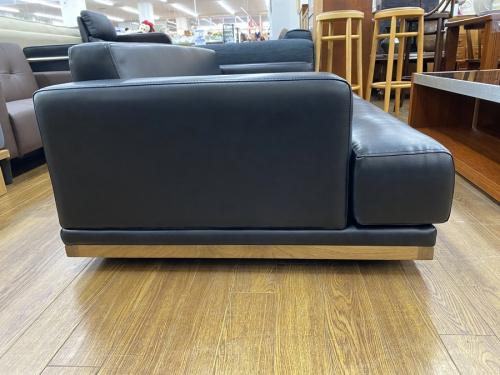 3人掛けレザーソファーの中古家具