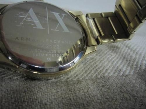 腕時計のARMANI