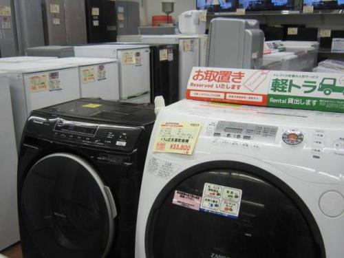Panasonicのドラム式洗濯乾燥機