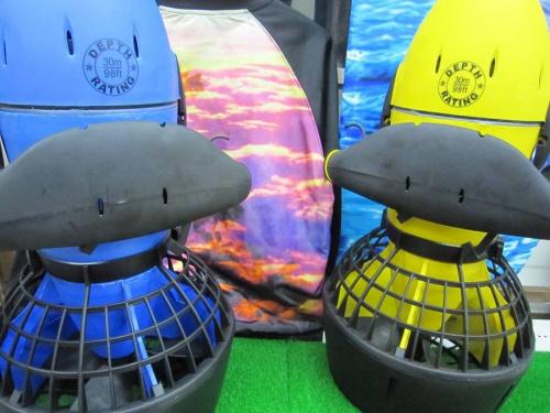 水中スクーターのマリン