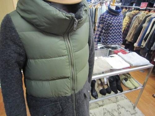 レディースファッションのダウンコート
