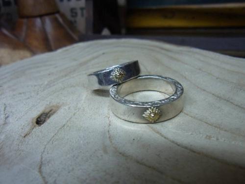 ネックレスのリング