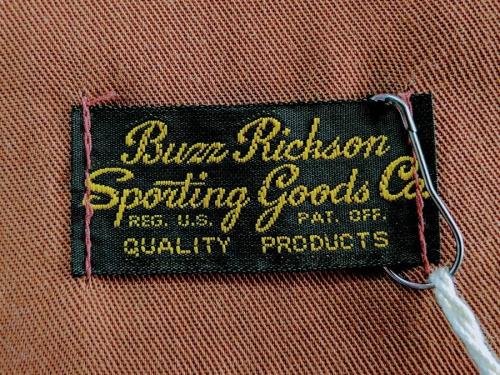BUZZ RICKSON'Sの未使用
