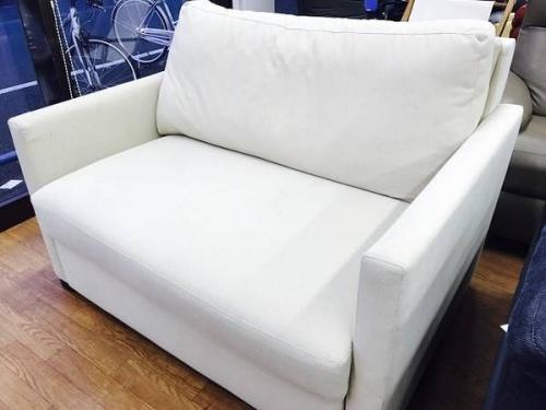 AMERICAN LEATHERのソファーベッド