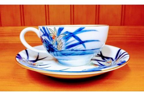 香蘭社のカップ&ソーサ