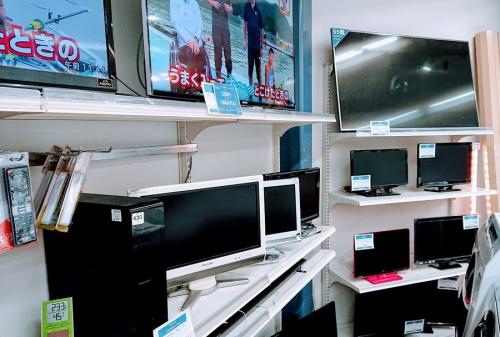 テレビの液晶モニター