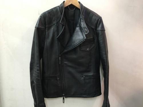 ジャケットのダブルライダースジャケット