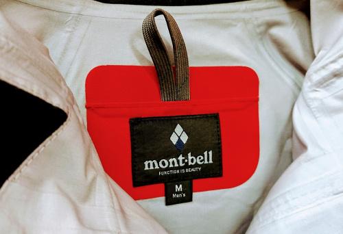 アウトドアのmont-bell