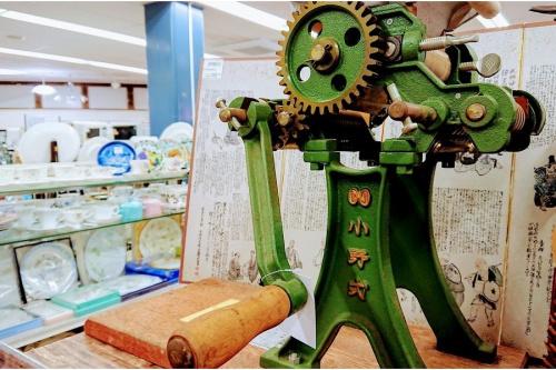 雑貨の製麺機