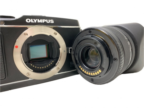 OLYMPUS オリンポス の武蔵村山 昭島 福生 青梅 東大和 立川 古着 カメラ 中古 AV機器 AV機器 E-P3 買取 買い取り