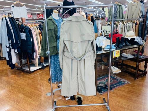 コート アウター ジャケットのライナー付トレンチコート ブルゾンコート MA-1