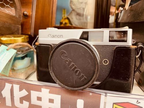 レトロ雑貨の舟 ライト カメラ 電話 流木