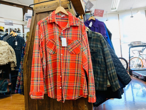 60s ボックスウールシャツのPENDLETON