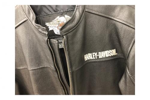シングルライダースジャケットのHARLEY-DAVIDSON