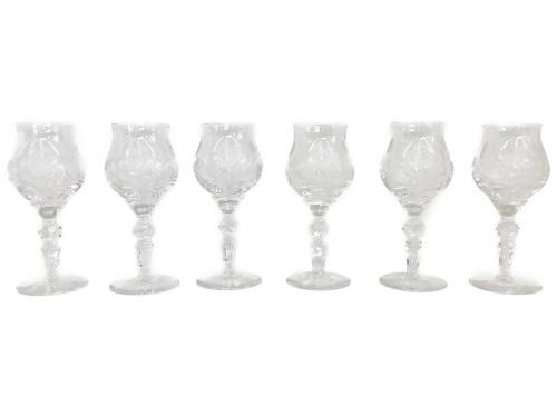洋食器のクリスタルワイングラス