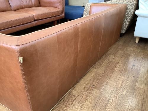 3人掛けソファーのtabu leather Works