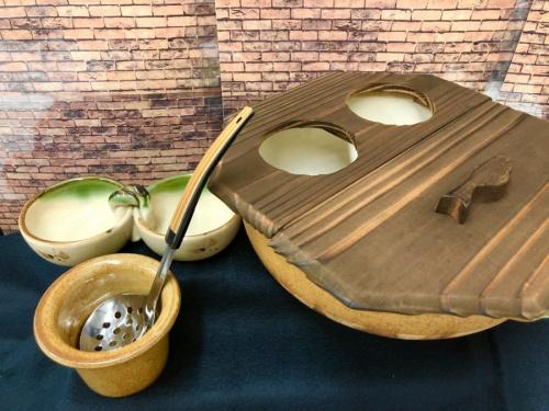 調理器具 調理の土鍋 いろり鍋