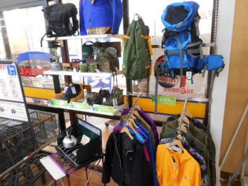 キャンプ用品の幕張