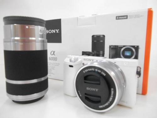 ミラーレスのカメラ
