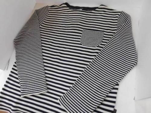 メンズファッションのバスクシャツ