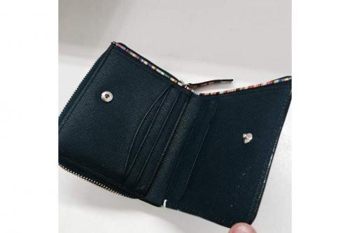 財布のラウンドファスナー
