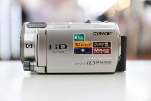 カメラの液晶