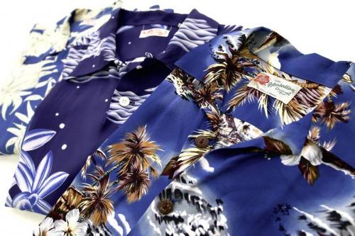 メンズファッションの開襟シャツ