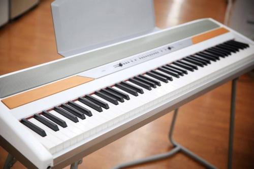 電子ピアノのスノーボード