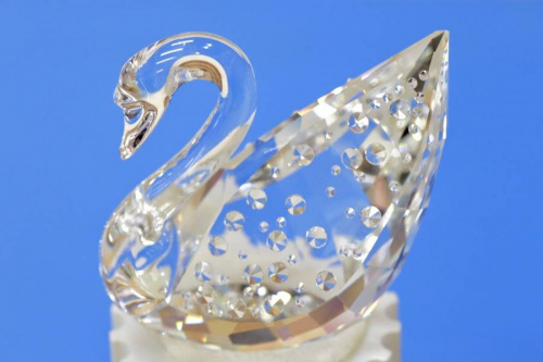 ガラスオブジェのスワロフスキー