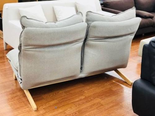リクライニングソファの無印良品