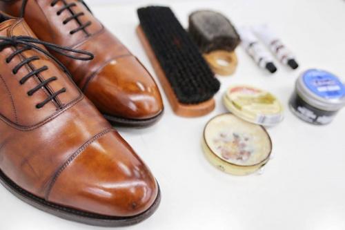 冠婚葬祭 革靴のビジネス 革靴