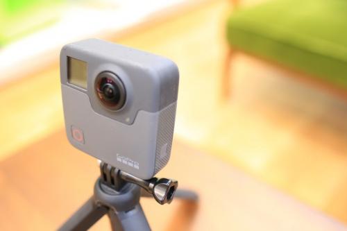 FUSIONのアクションカメラ