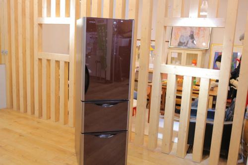 HITACHIの大型冷蔵庫
