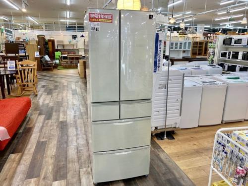 SHARPの大型冷蔵庫