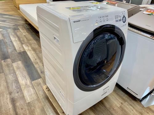 ドラム式洗濯機のSHARP