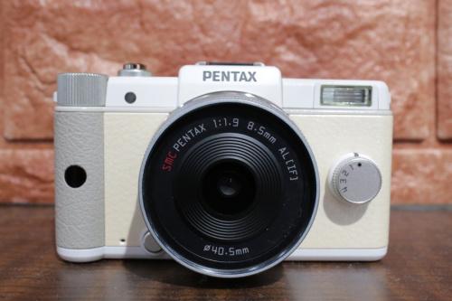 ミラーレスカメラのペンタックス