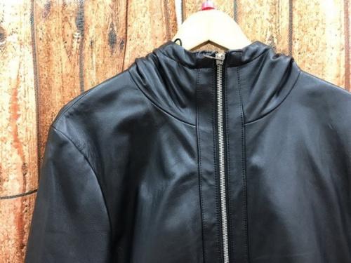 ライダースジャケットのレザージャケット