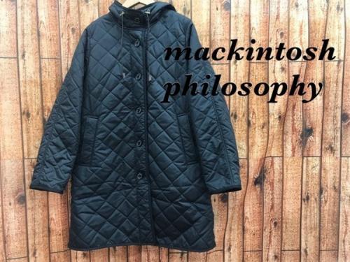 キルティングコートのマッキントッシュ フィロソフィー