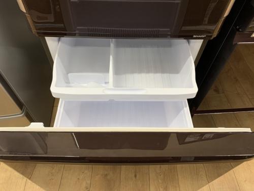 3ドア冷蔵庫の家電