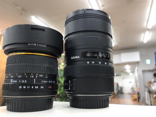 超広角レンズの単焦点レンズ