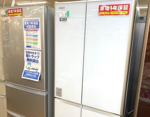 大型冷蔵庫のHITACHI