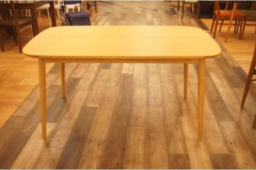中古 買取 家具のダイニングテーブル 無印良品 中古