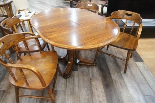 千葉 中古 家具の千葉 中古 エクステンションダイニングテーブル