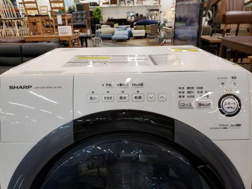 千葉 中古 ドラム式洗濯機の千葉 中古 シャープ