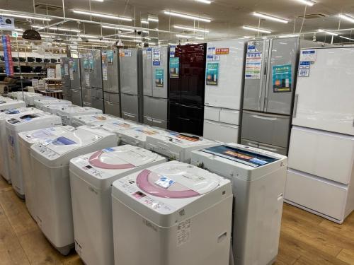 冷蔵庫 洗濯機 新生活の中古 家電 買取
