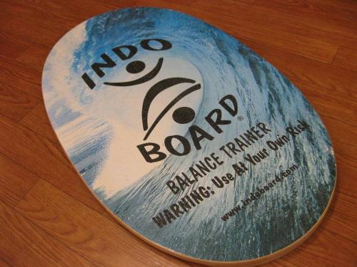 インドボードのサーフィン